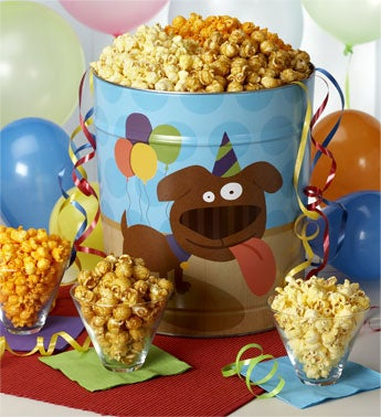 Popcorn Tin - 1800baskets.com