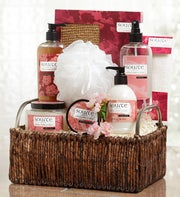 Imperial Cherry Blossom Spa Gift Basket