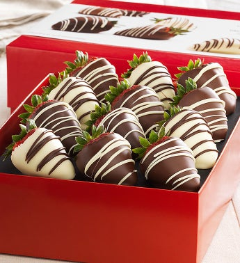 Decadent Chocolate Dipped Strawberries 12