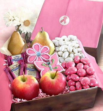 Hope & Happiness Fresh Fruit & Snacks Gift Box