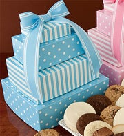 Cheryl's Welcome Baby Boy Gift Tower