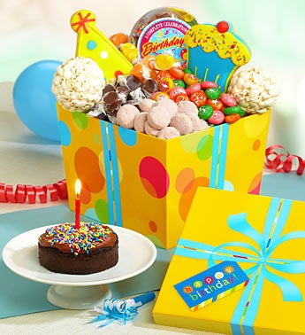 Great Big Happy Birthday Sweets & Treats Gift