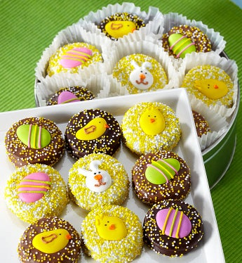 Happy Easter Belgian Chocolate Covered Oreo� Tin