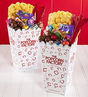 The Popcorn Factory� Movie Night Scoop Boxes