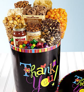 The Popcorn Factory� Thank You Deluxe Tin