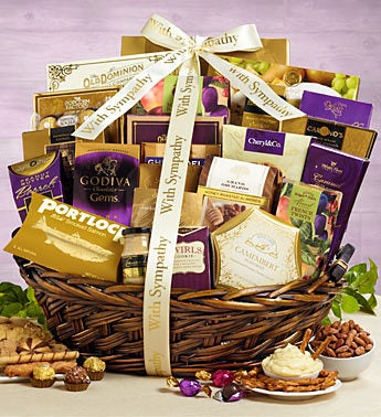 You're In Our Thoughts Sympathy Basket