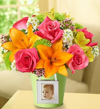 Garden Bouquet? with Photo Frame
