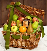 Orchard Fresh Organic Fruit Gift Basket