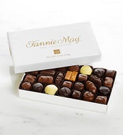 Fannie May Milk & Dark Chocolate Assortment 1 lb