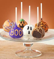 Decadent Halloween Truffle Cake Pops