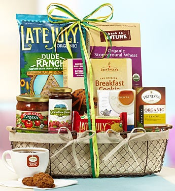 The Gourmet Organic Gift Basket