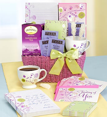 Thoughts of Mom Stationery & Tea Gift Basket