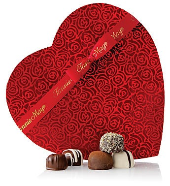 Fannie May� 1 lb 3 oz Truffles Heart