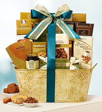 Elegant Sentiment Gift Basket