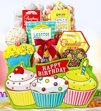 Let's Celebrate Birthday Gift Basket
