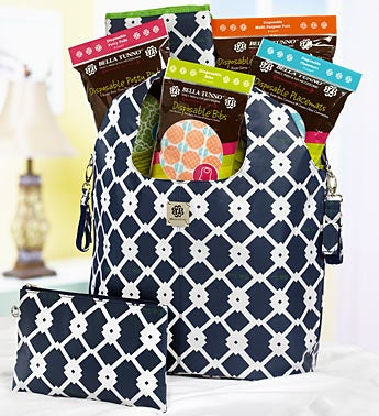 New Baby Bonanza Diaper Bucket Bag Deluxe Gift Set