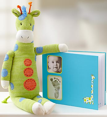 Memory Book with Plush