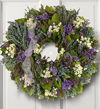 Lavender Dreams Wreath