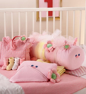 Baby Caterpillar Blanket & Bag Set