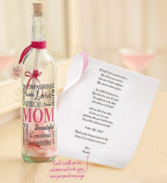 Personalized Message in a Bottle� for Mom