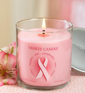 Breast Cancer Awareness Yankee Candle�
