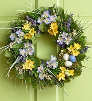 Preserved Spring Nest Wreath