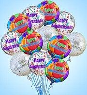 Air-Rangement - Anniversary Mylar Balloons