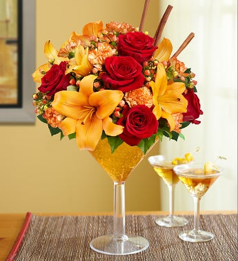 Martini Bouquet? Pumpkin Spice