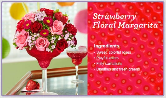 Strawberry Floral Margarita®