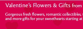 Valentine's Flowers & Gifts from $19.99