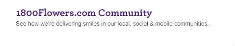 1800Flowers.com Community